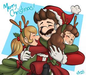 Merry Christmas! - Mario Bros Legacy by Elwensa
