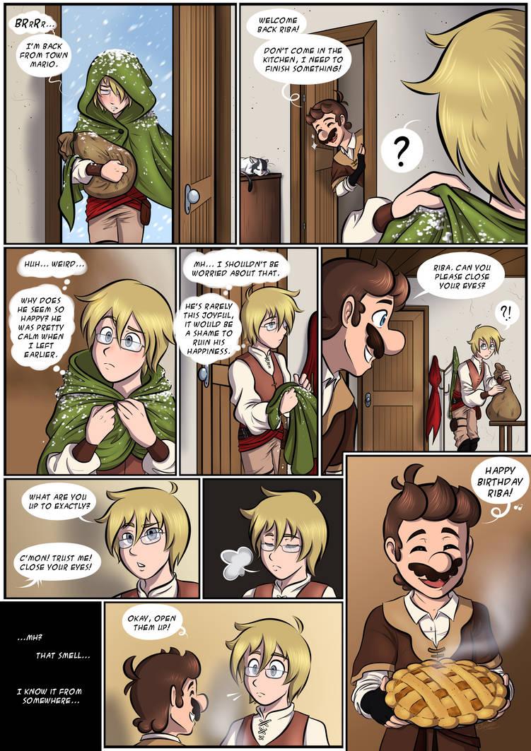 Apple Pie - Page 1 -  MTMB ARC C3 Ending Comic by Elwensa