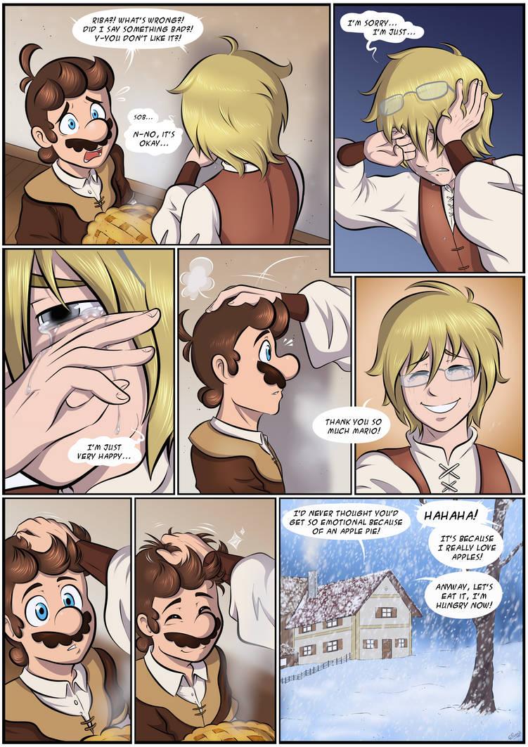 Apple Pie - Page 4 - MTMB ARC C3 Ending Comic by Elwensa