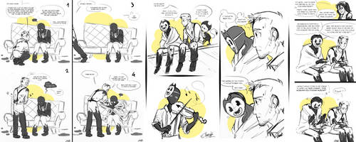 BATIM New Soul AU Sketches #2