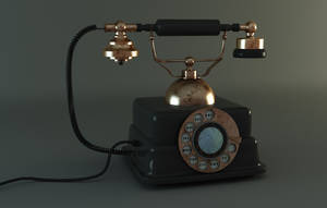 3D Old Phone by Toothpick134