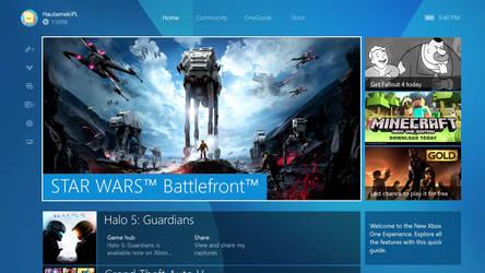 New Xbox One Experience November Update