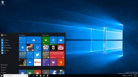 Windows 10 PC Insider Preview Redstone Desktop