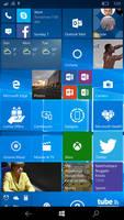 Microsoft Lumia 950 XL Start Screen