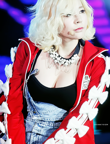 girls generations sunny says her chest is her best
