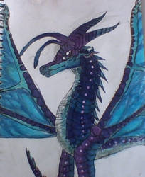 Blue from wings of fire  :P