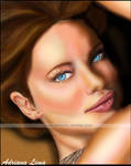 Adriana Lima - Digital Paint