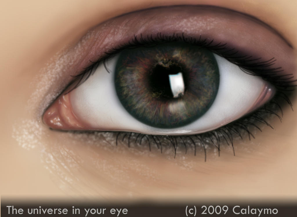 The universe in your eye