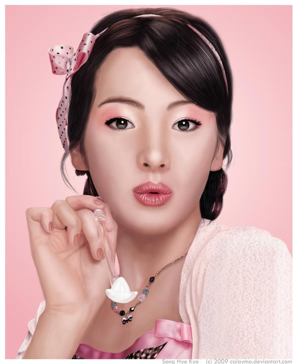 Pink Sugar - Song Hye Kyo by Calaymo