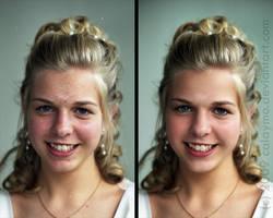 Young lady - Digital Makeup