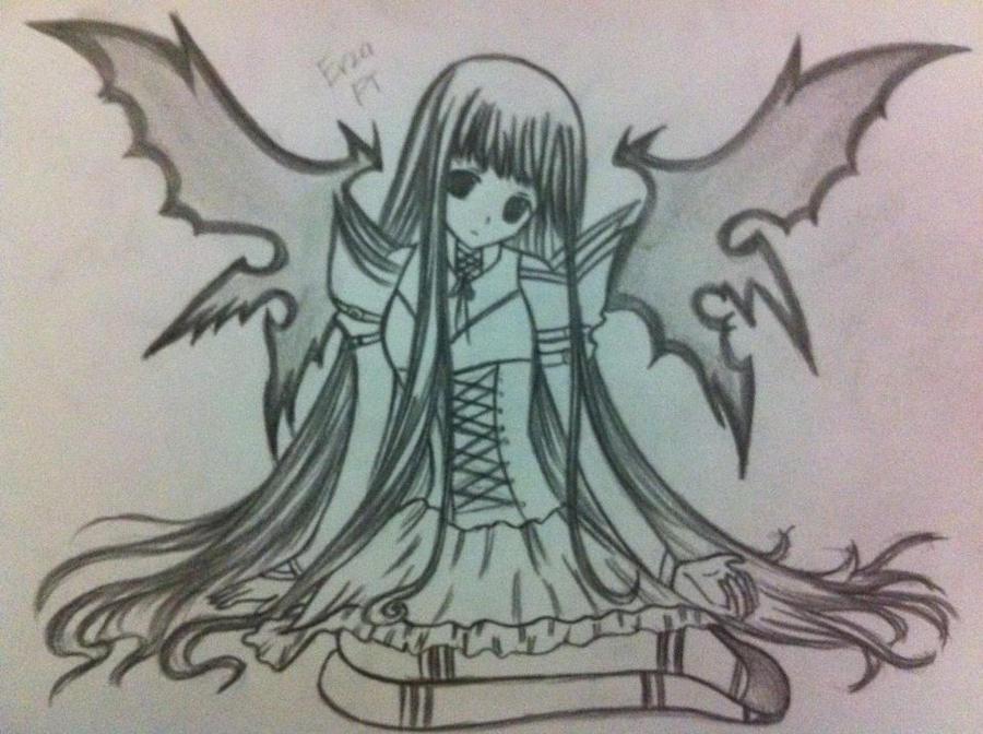 dark angel by ryuukeru on deviantart