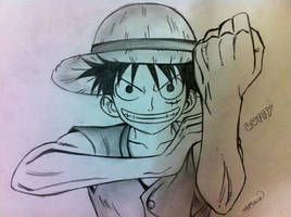 Luffy - Punch! by Ryuukeru