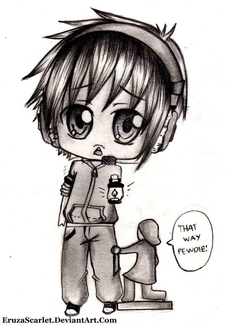 Pewdie! XD by Ryuukeru