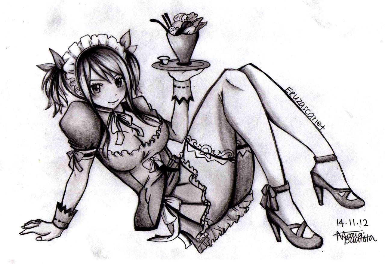 Maid Lucy by Ryuukeru