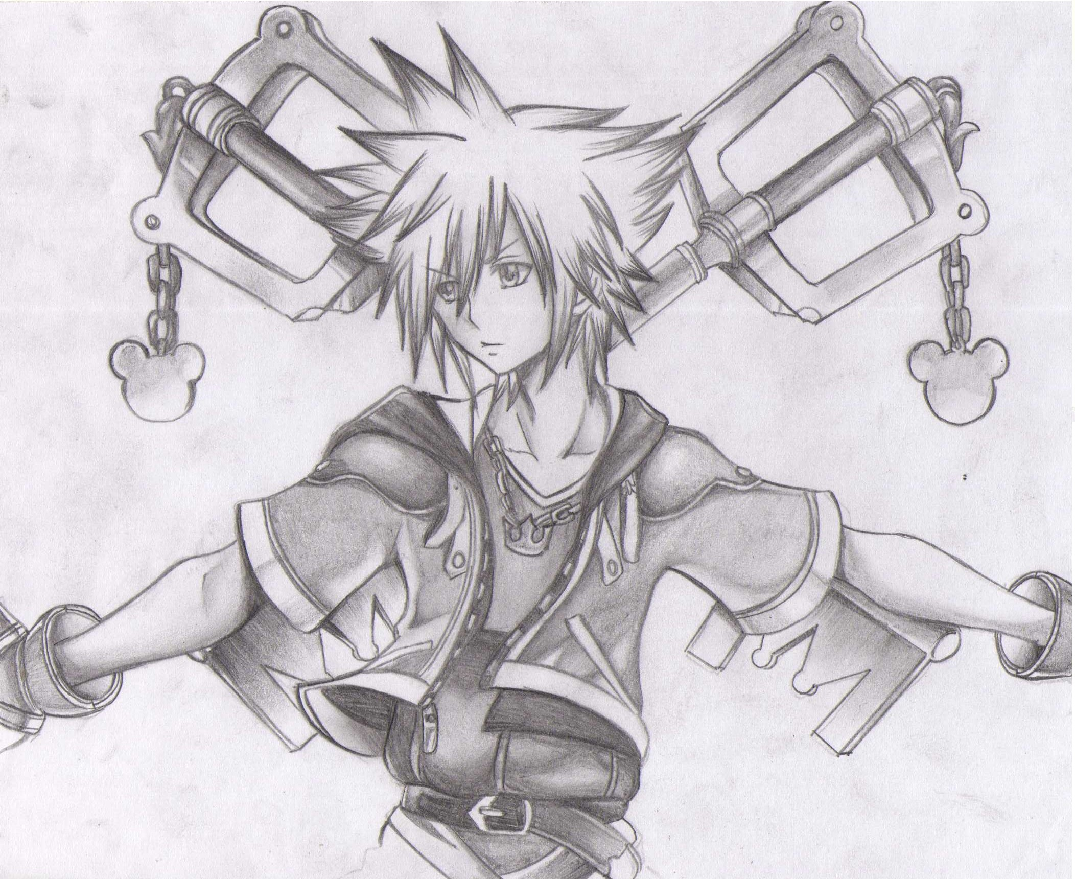 Pictures Of Kingdom Hearts Drawings Kidskunst Info