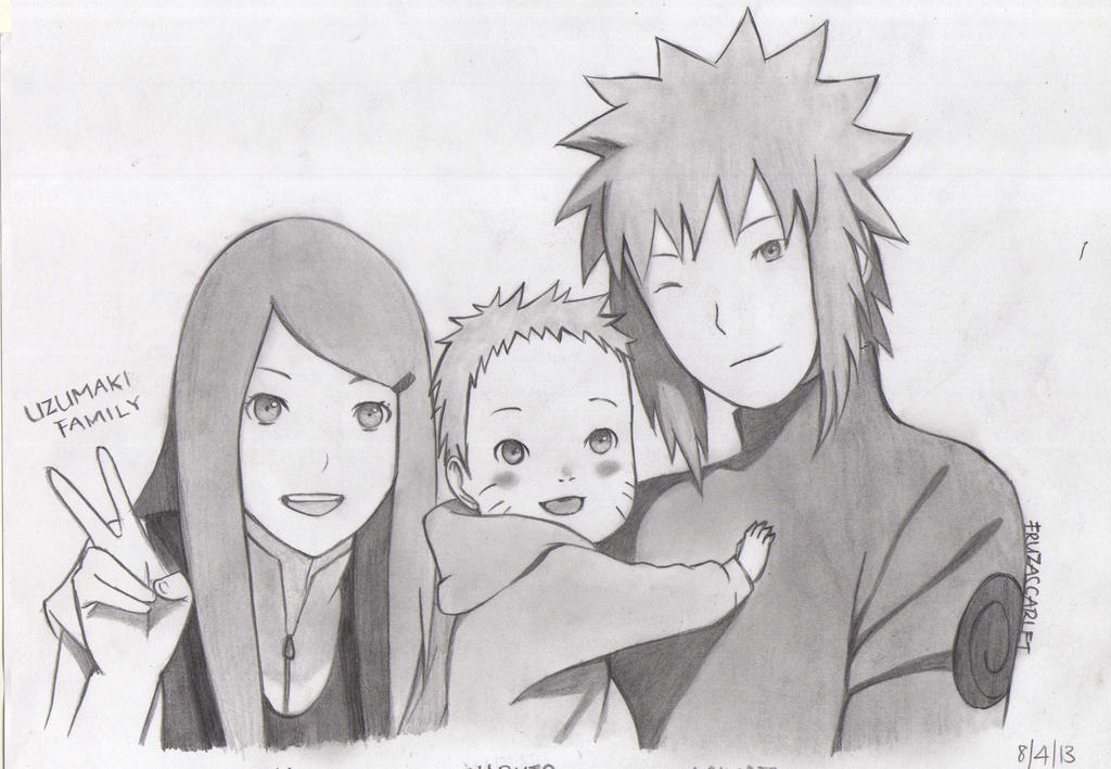 Uzumaki Family by Ryuukeru on DeviantArt