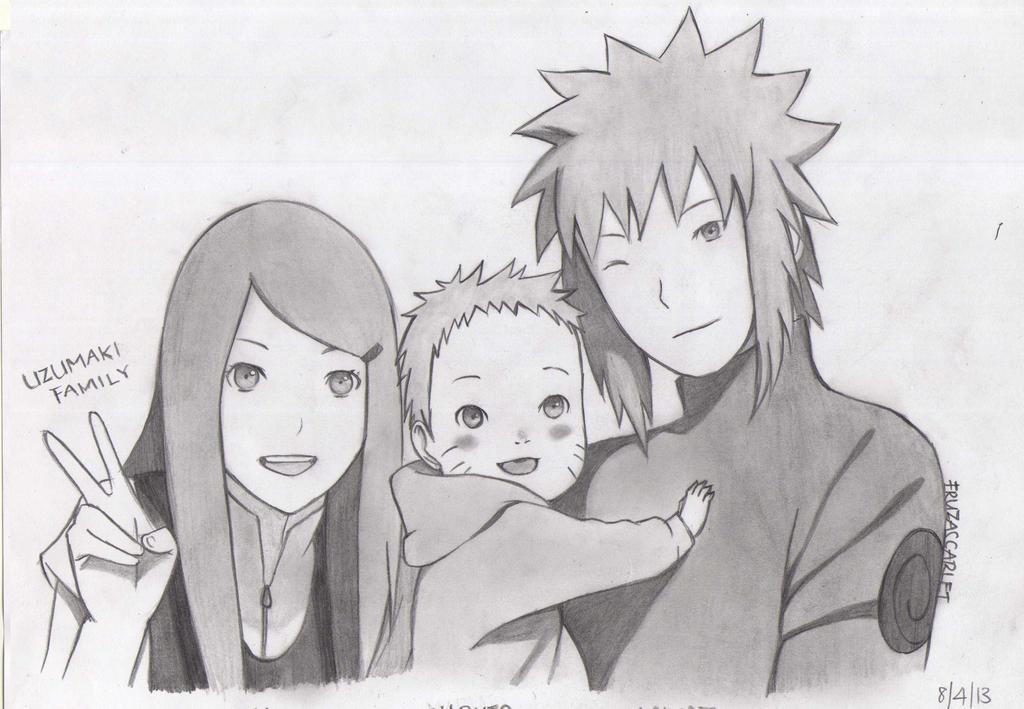 Uzumaki Family by Ryuukeru on DeviantArt