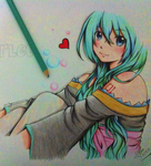 Miku Hatsune~ ~FanArt~