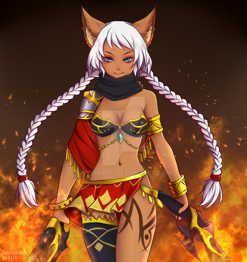 Fiery Beauty by Ryuukeru