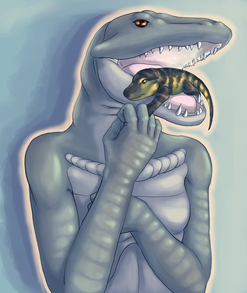 Even Predators Are Good Mothers by Aki-rain