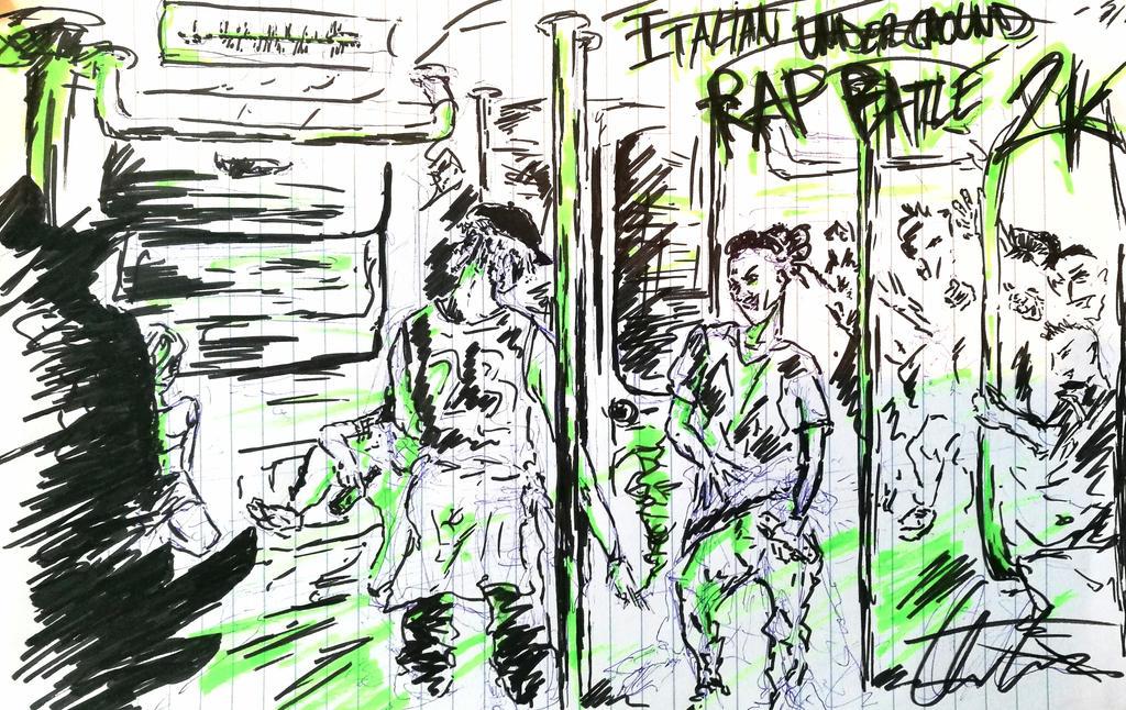 Italian underground rap battle! by anthony2100
