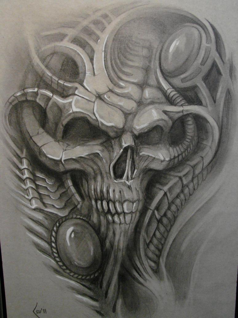 sketch for tattoo by Xenija88