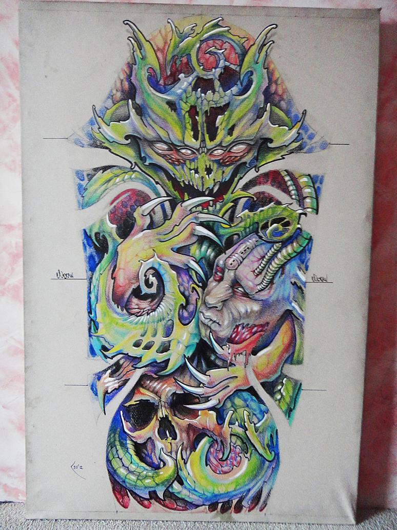 Tattoo Sleeve Design Artwork: Tatos Me: Next Sleeve Tattoo Designs On Paper