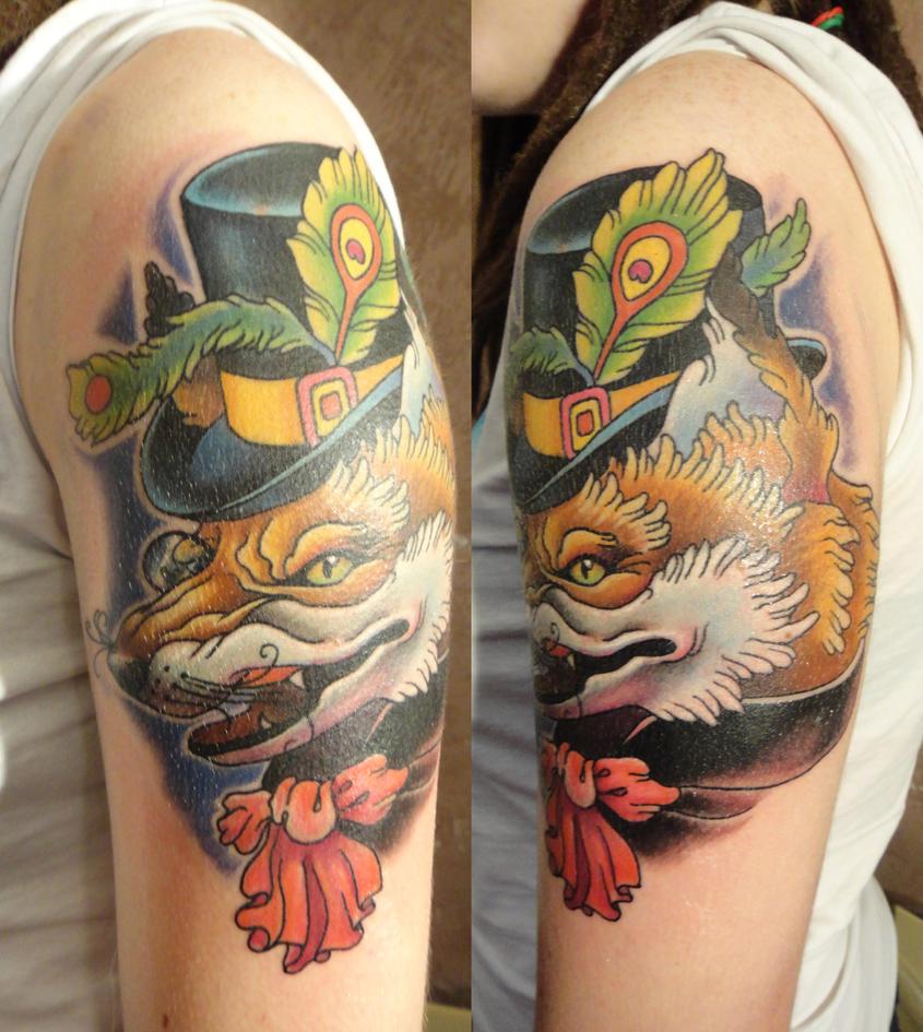 Fox tattoo  by Xenija88