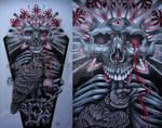 Tattoo design - Tanatos or Instinct of Death