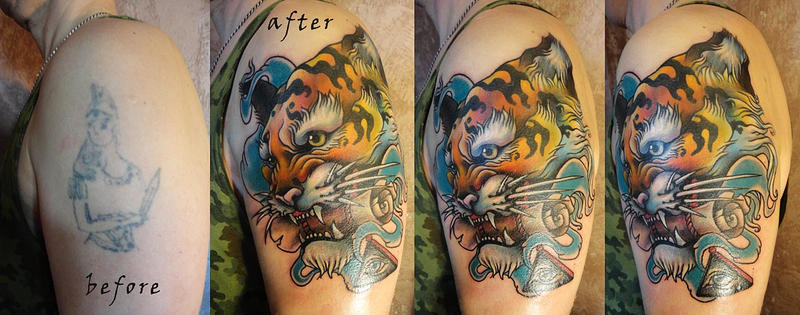 Tattoo - Tiger by Xenija88