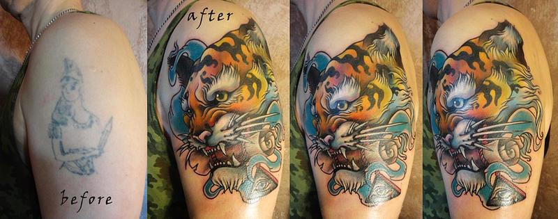 Tattoo - Tiger by Xenija88