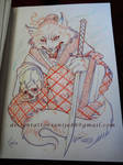 Tattoo design - Fox sketch