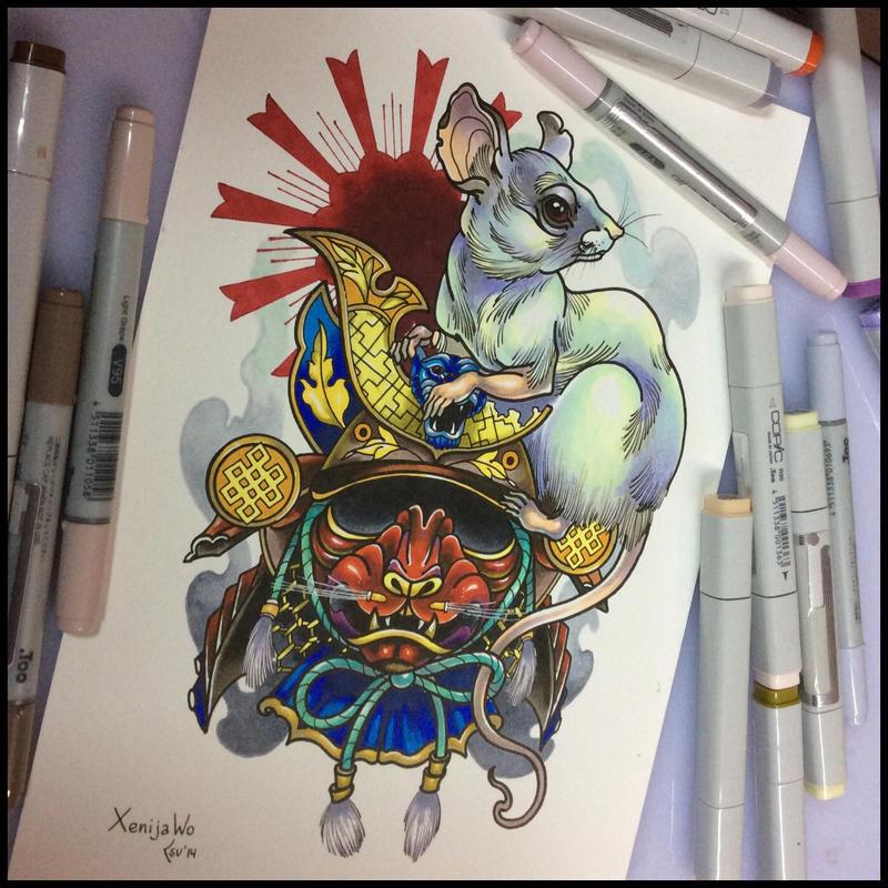 Tattoo design by Xenija88