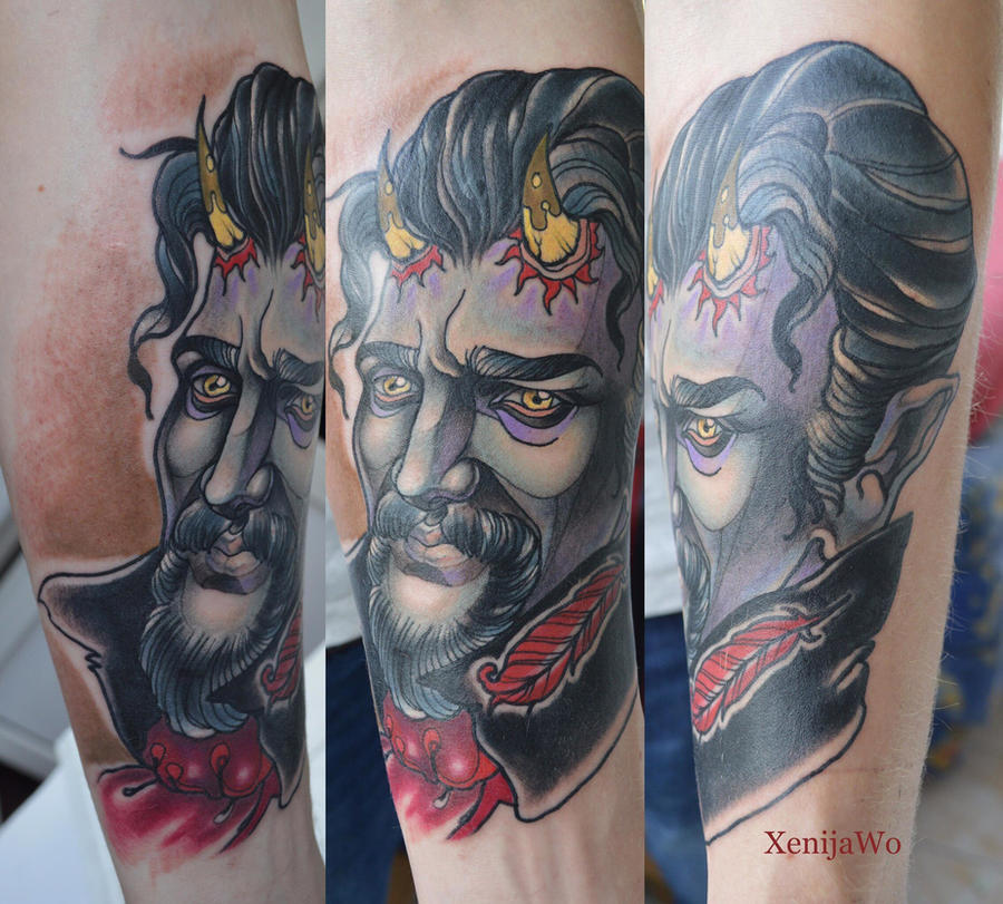 Tattoo Devil by Xenija88