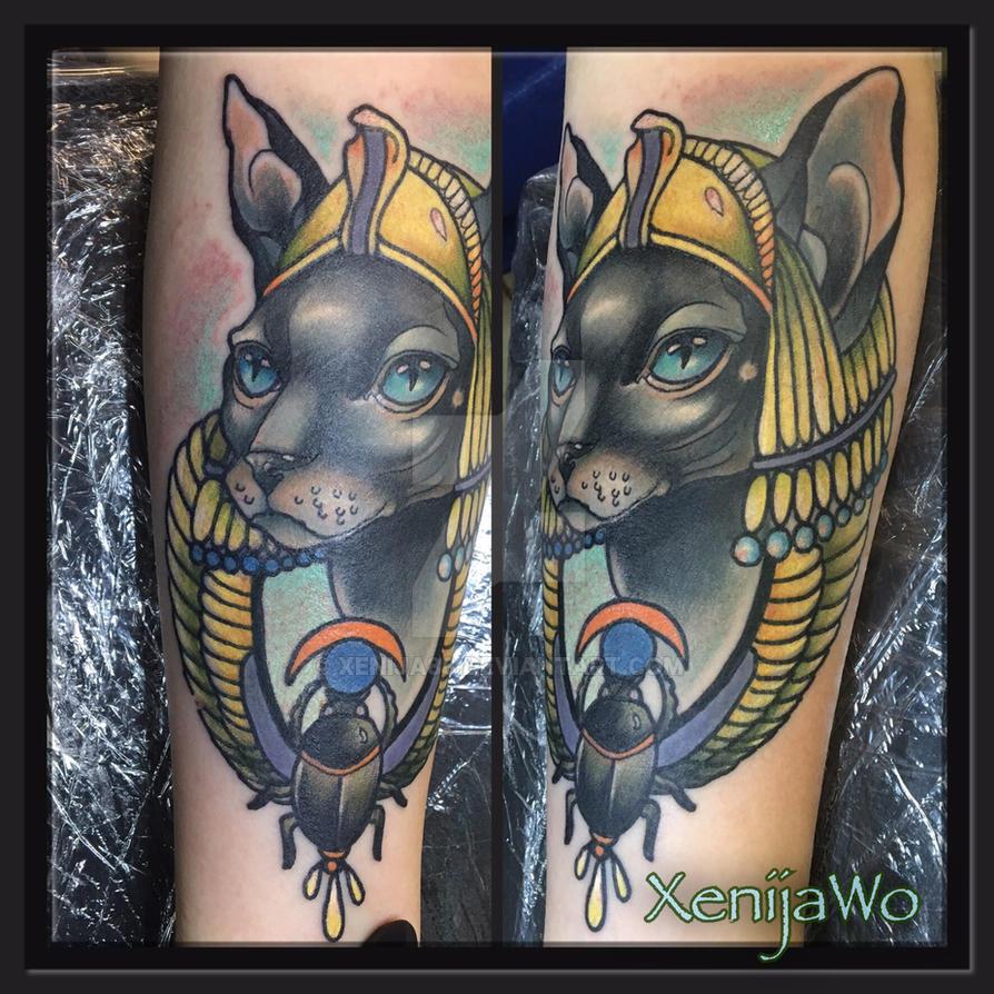Sphinx tattoo by Xenija88