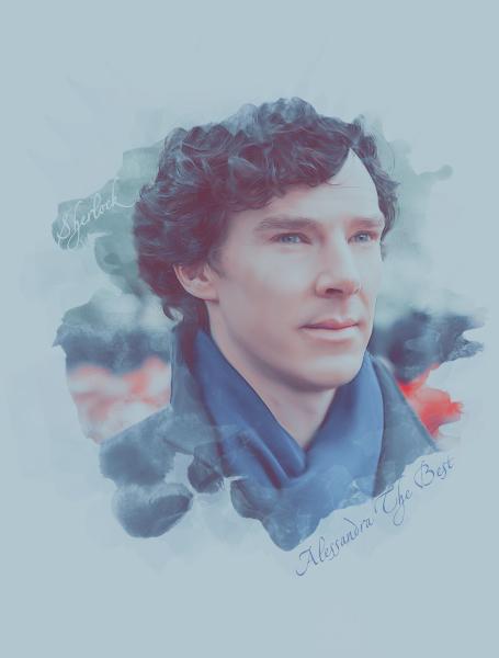 I love you, Sherlock by AlessandraTheBest
