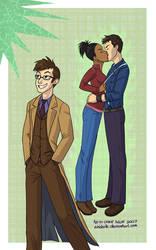 Commission- Martha+Jack+Doc by echidnite