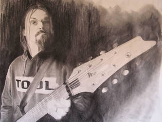 Fredrik Thordendal of Meshuggah by scatterheart60