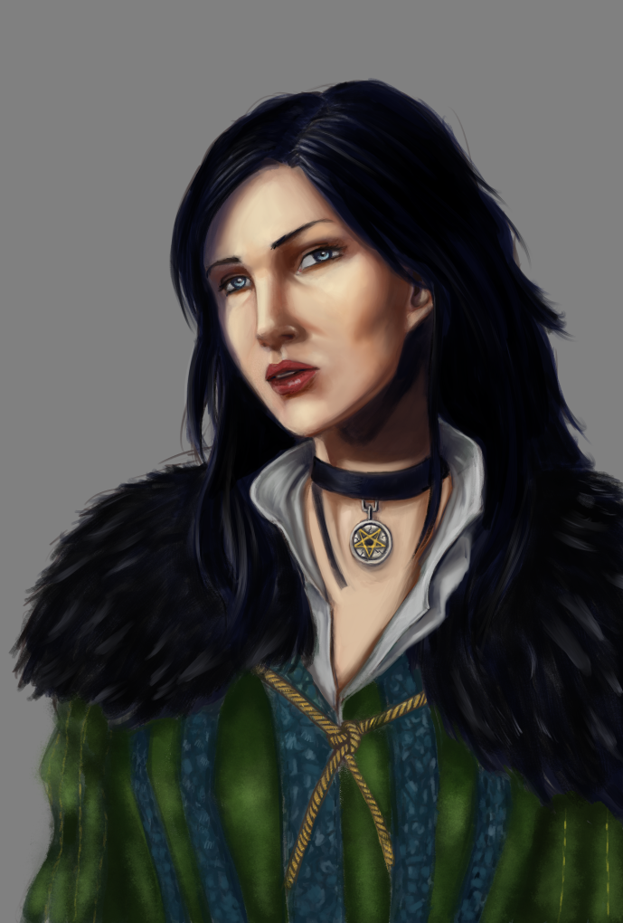 Yennefer from Witcher by Gradan