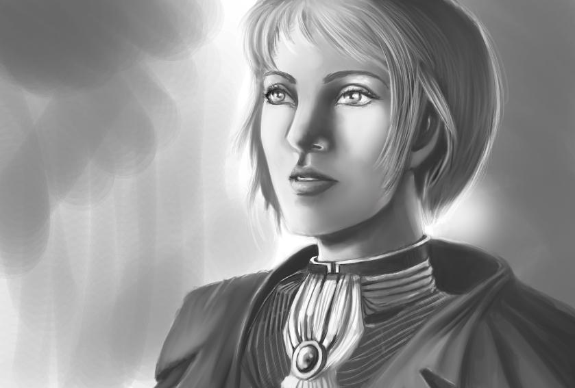 Ulrika sketch_wip by Gradan
