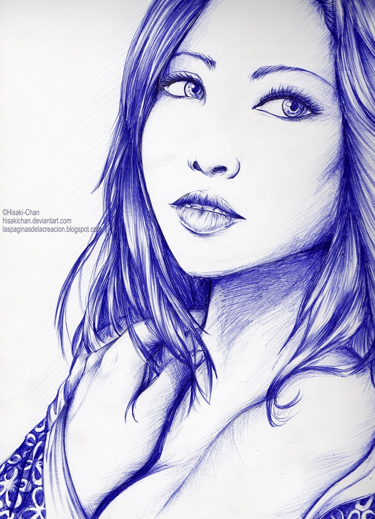 Oriental girl by HisakiChan