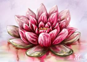 Loto Flower - Detail by HisakiChan