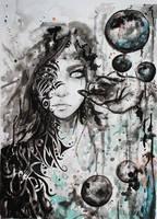 Tribal Girl by HisakiChan