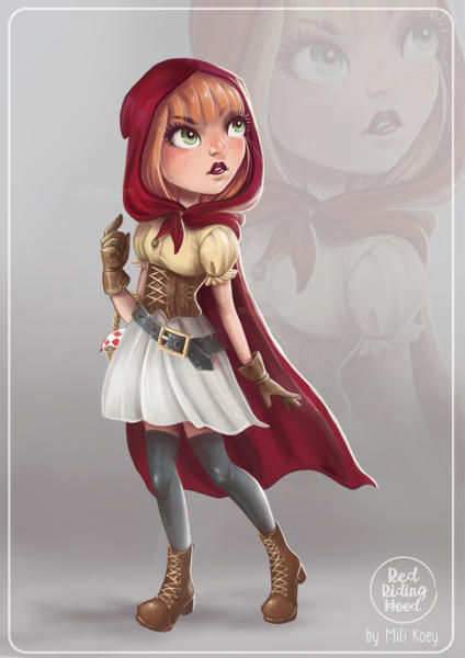 RED RIDING HOOD - CHARACTER DESIGN