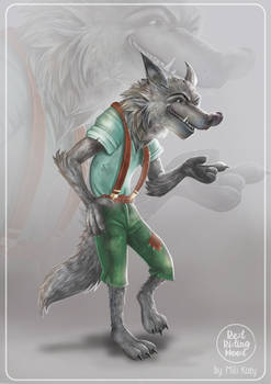 THE WOLF - CHARACTER DESIGN