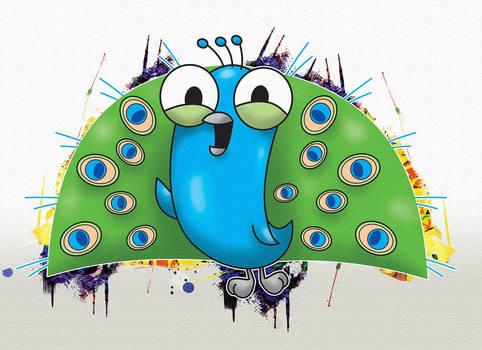 Pavao - Peacock Cartoon