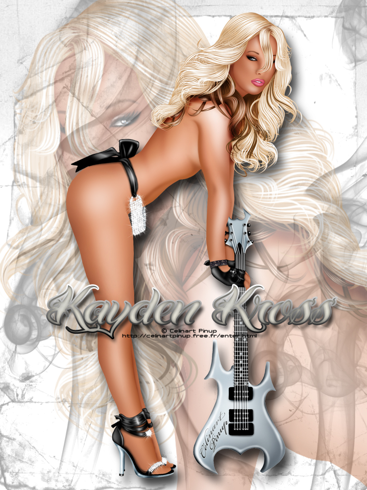 Kayden Kross by celinart-pinup
