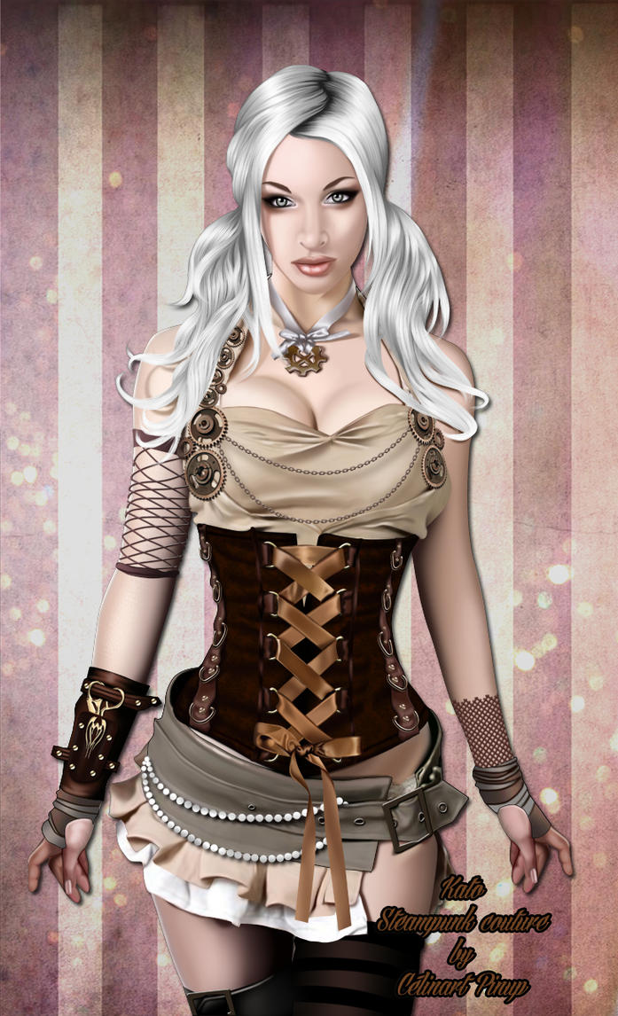 Kato Steampunk by celinart-pinup