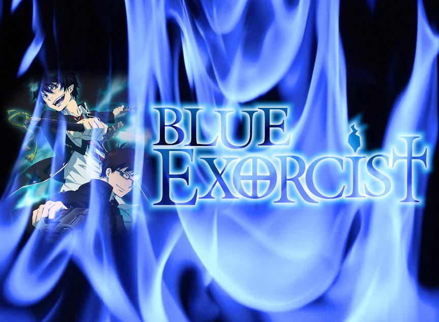 blue exorcist wallpaper by bleachfan1235 on deviantart