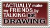 Stamp -Friends- by Zaper3095